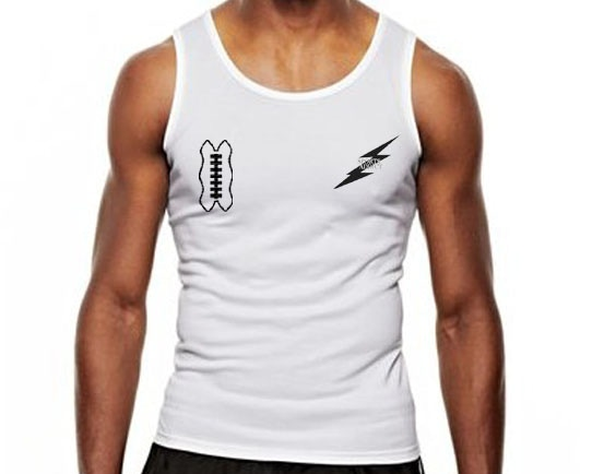 A donation of $25 will land you one of our (limited time only) Sports Addict Tank Tops.