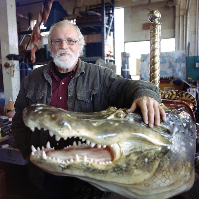 Master Carver, Bill Finkenstein