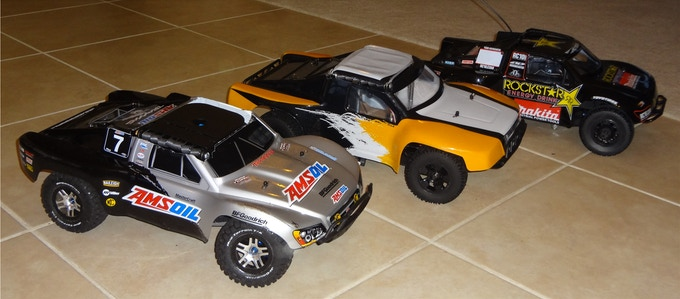 Vehicles modified with prototype RhinoForce S2