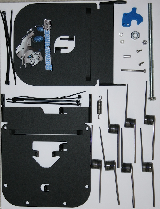 RhinoForce is easy to assemble and use