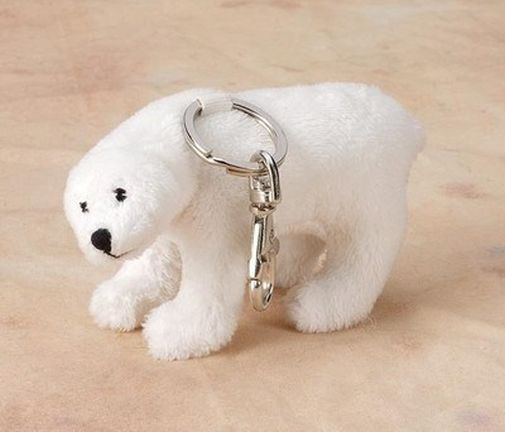 Polar Bear Key Chain