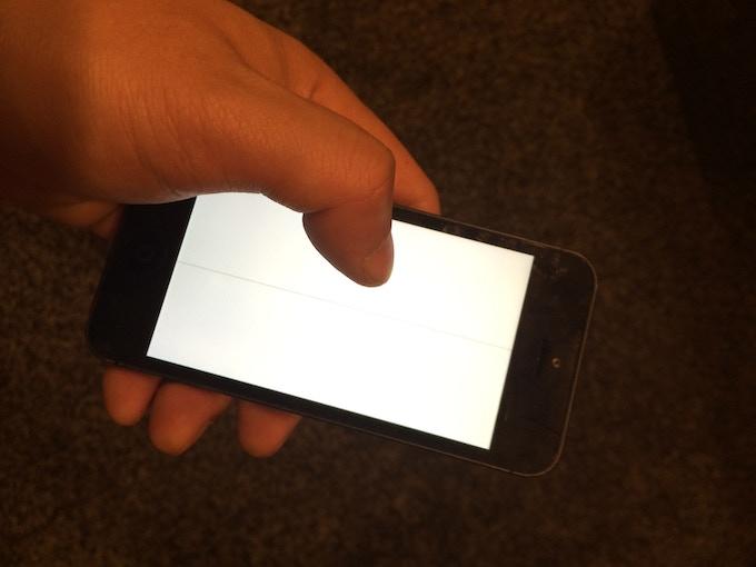 inAiR trackpad control app on iOs