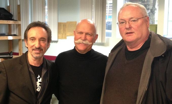 David, Will and Jon Newton