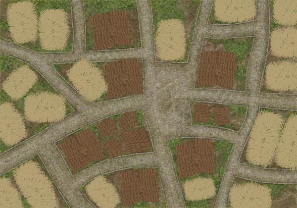 Crossroads Town  wip
