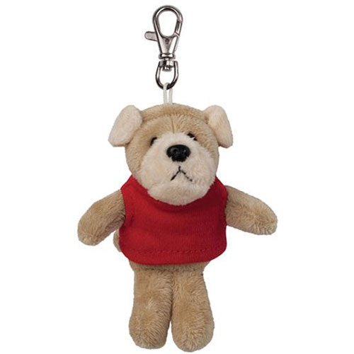 The mascot key chain model comes dressed in a color coordinated tee shirt.  Our graduate key chain comes dressed in a cap with the year of graduation charm dangling from the tassel
