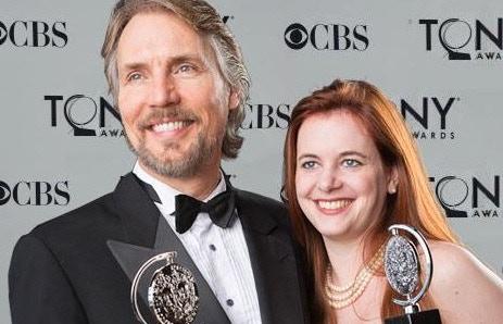 Corey Brunish and partner Brisa Trinchero
