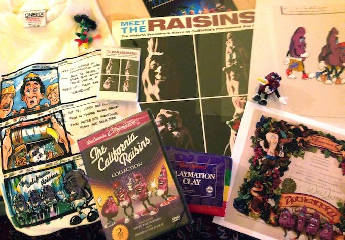 """California Raisins Collectors Package"""