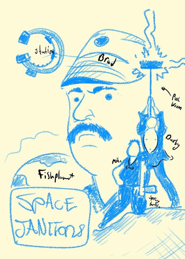 evany rosen space janitors - photo #45