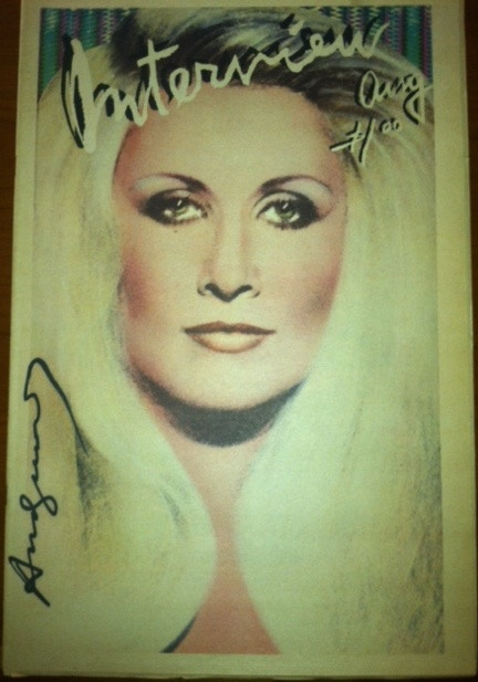 Signed By Andy Warhol - Jane Holzer Nov  78       NOW ONLY $901