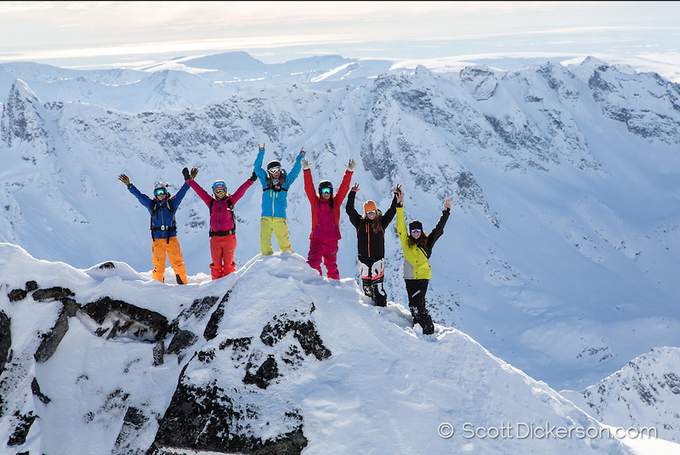 Top of the world...somewhere in Alaska, Photo by: Scott Dickerson
