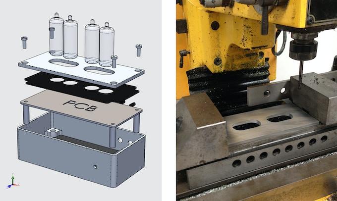 CAD model, prototype machining.