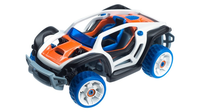 """Prototype of Modarri """"X1"""" Dirt Car ((click here to see production colors)"""