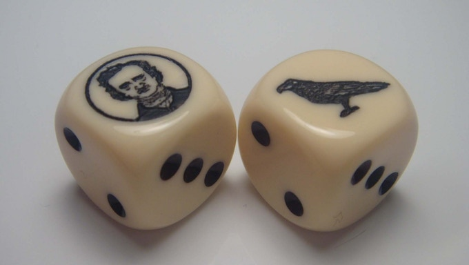Custom dice by Chessex Manufacturing