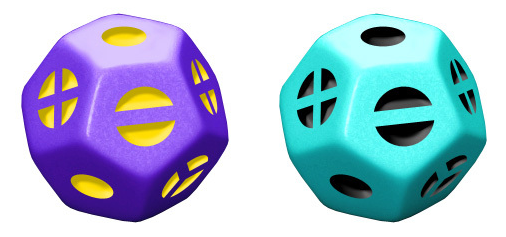 The Monty (Marble Purple with Yellow, and Turquoise and Black)