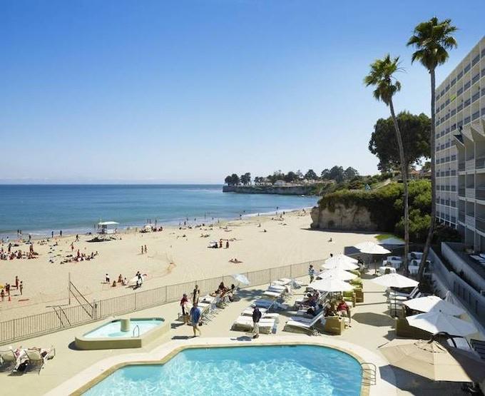 Santa Cruz Beach and Dream Inn Hotel