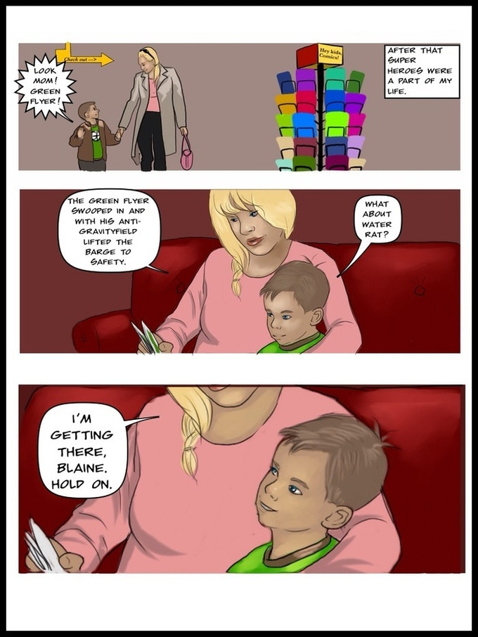 Page 5 Chapter 1 - Art by Natisha Reid