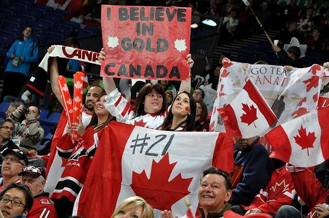 Vancouver 2010 Paralympic Sledge Hockey - Canada vs Japan