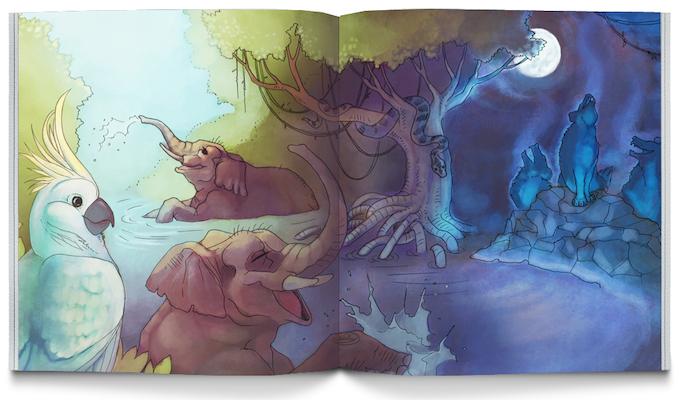 Down In The Jungle By Lyndsay Wasko Kickstarter