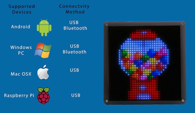 PIXEL V2: LED ART by Al Linke — Kickstarter