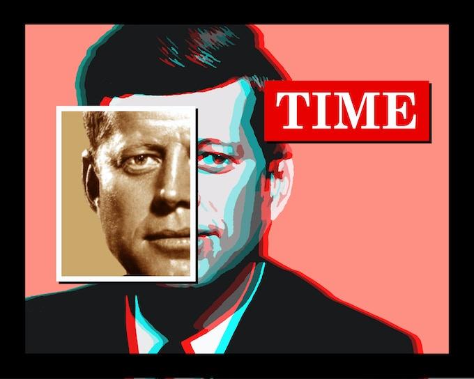 JFK Time Pink