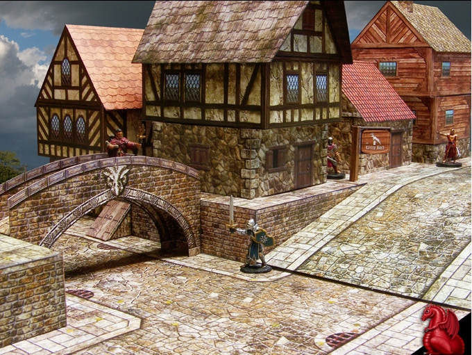 Ravenfell 28mm Fantasy Village By Tom Tullis Kickstarter