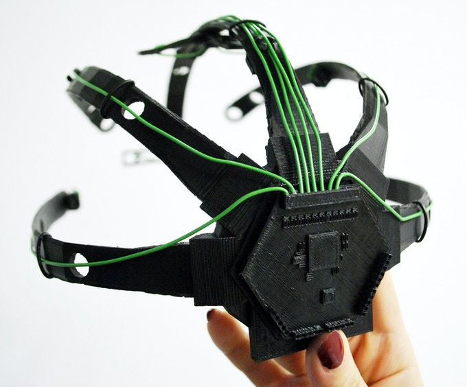 The first 3D-printed physical prototype of the Spider Claw 3000!