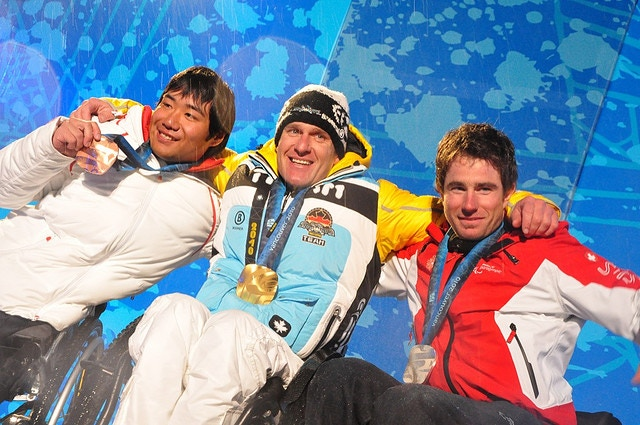 Vancouver 2010 - Paralympic Medal Ceremony