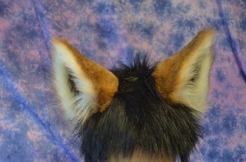 Realistic Animal Costume Ears On A Headband By Deanna