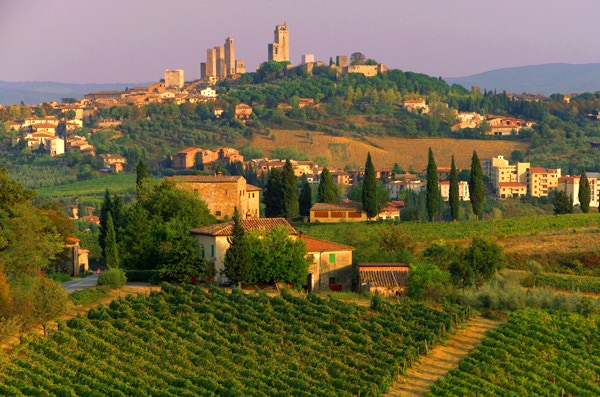 The opportunity to visit Tuscany - one of the best places in the world - with proper guides