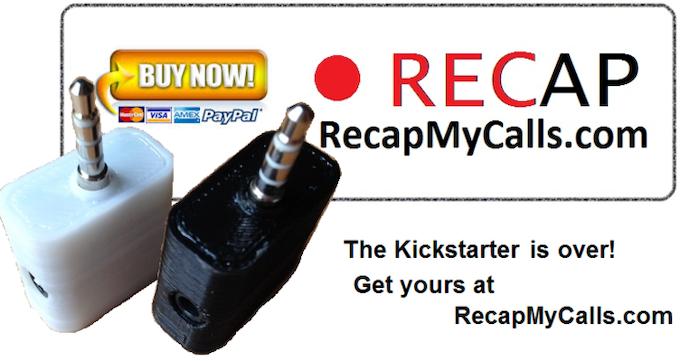Get The RECAP at RecapMyCalls.com
