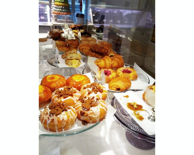 Our Pastry Display at our East Village Location