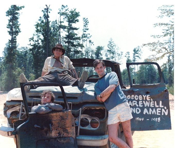 After Completing The Truck Scene - Circa 1988