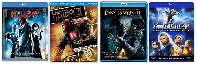 One of the rewards is one of these films signed by DOUG JONES himself, or ALL the films if you so choose, on either Blu-ray or DVD.