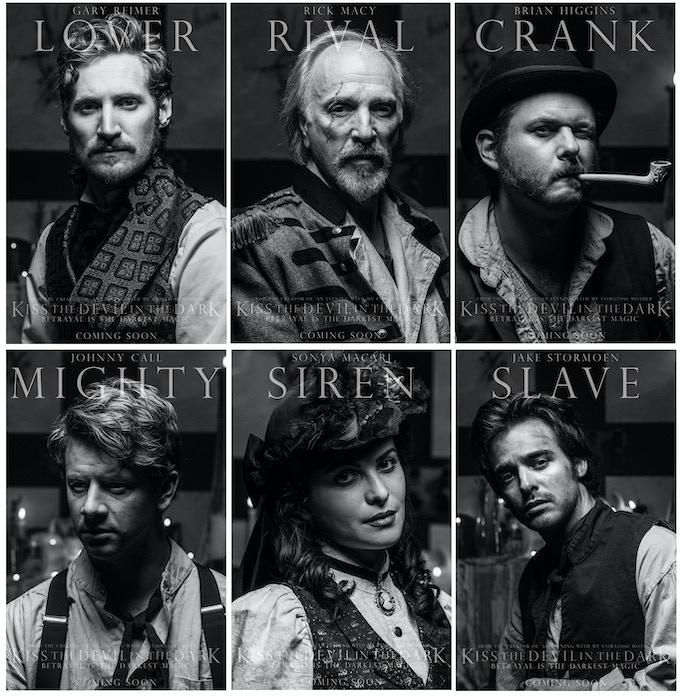 GARY REIMER (Redemption), RICK MACY (Comatose Mother), BRIAN HIGGINS (The Boys at the Bar), JOHHNY CALL (HitRECord), SONYA MACARI (The Artist), and JAKE STORMOEN (Mythica) star as Owen, Alexander, Jonathan, Charles, Vanessa and Edgar.