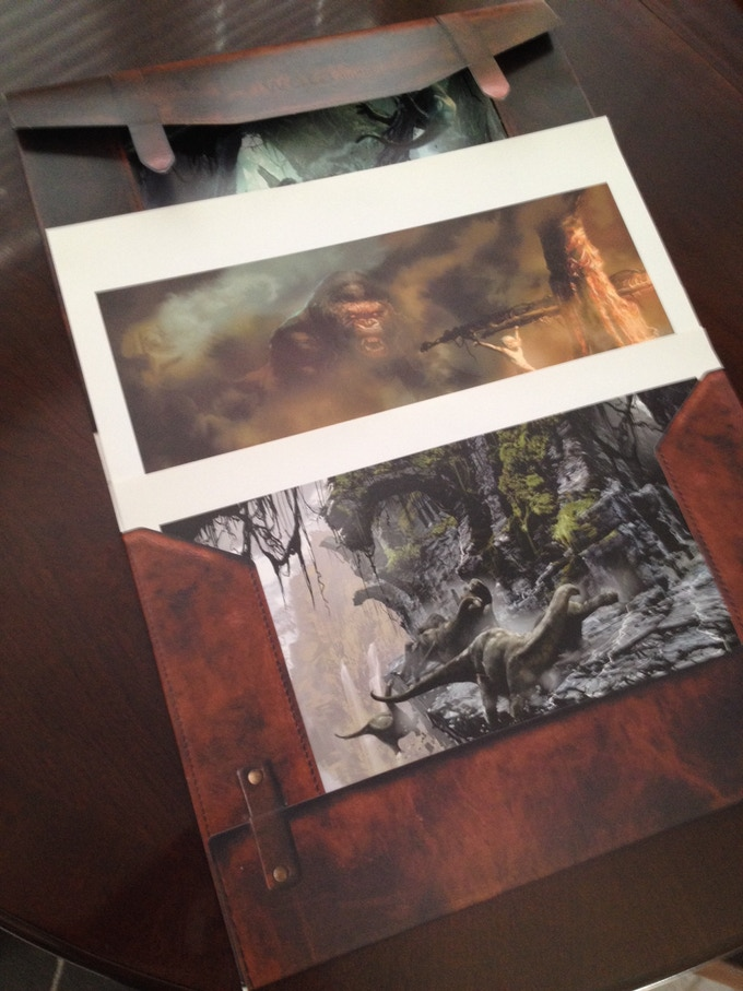 Weta Jackson Kong Print Portfolio (inside)