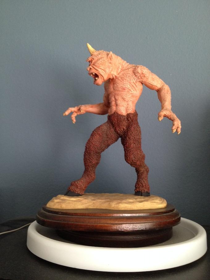 McVey Cyclops Maquette (original casting)