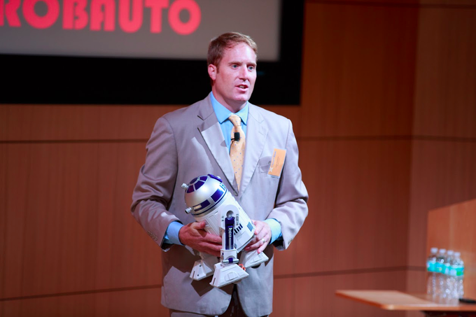 """Chief Human"" Jalali Hartman: ROBAUTO was selected out of 800 companies to participate in Heathbox 2013, a leading healthcare accelerator. R2D2 knew how to diagnose and fix machines. Will we ever have a robot that fixes people? ROBAUTO wants to find out."