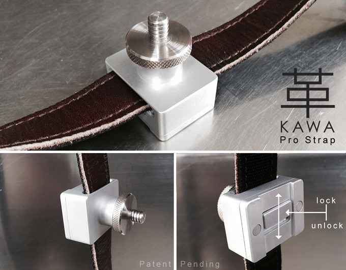 KAWA Pro Strap - Screw Mount with Locking System