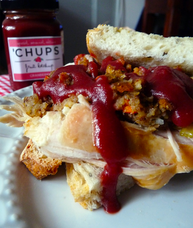 Turkey & Stuffing Sandwich