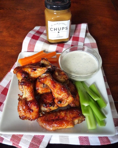 Mango Glazed Chicken Wings