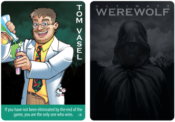 Promo card for Deluxe Ultimate Werewolf
