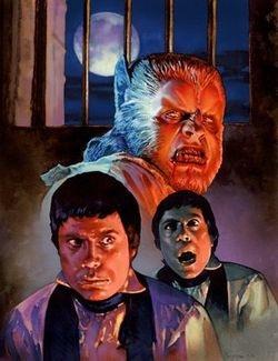 Jeff Preston's CURSE OF THE WEREWOLF artwork!