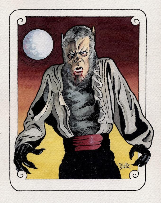 Dietz Art Card Sample
