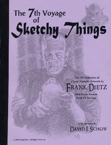 The 7th Voyage Of Sketchy Things Book