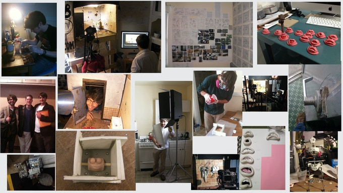Tons of process pictures from R&D to fabrication, animation, and more...