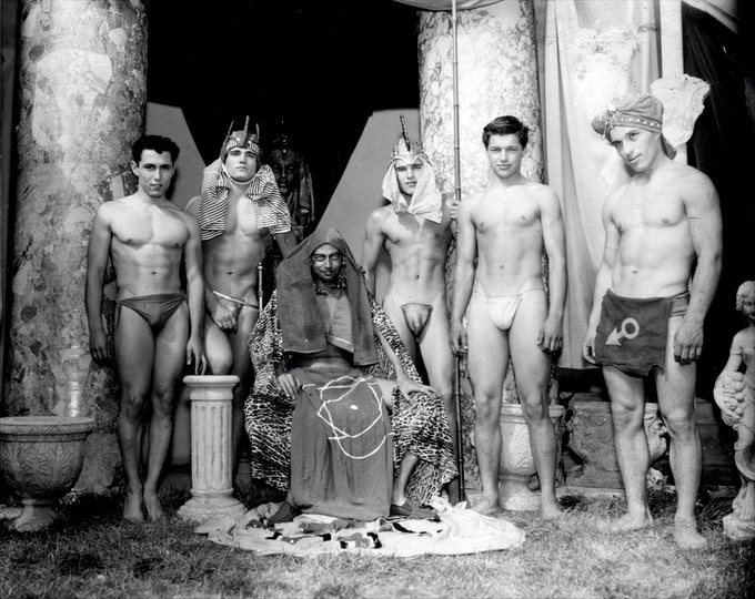 "Film Still from ""Pharaoh's Slave"", c.1957    [Permission of Mizer Foundation]"