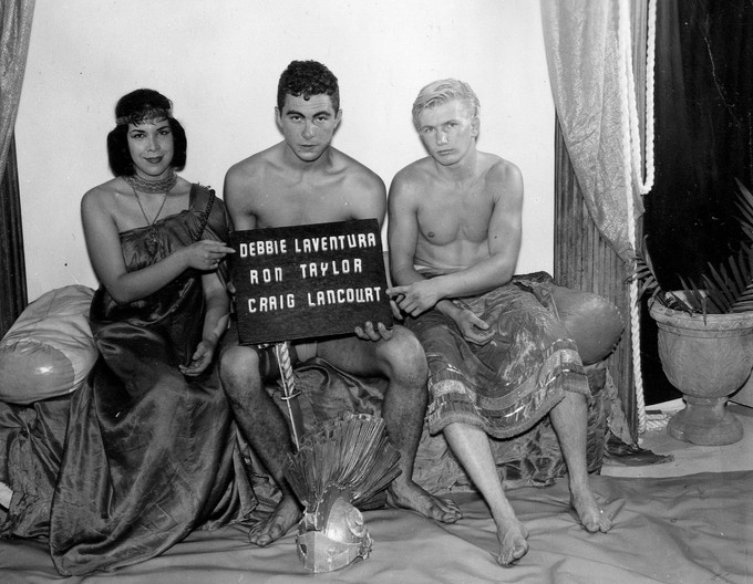 "Still Film from ""Cleopatra & The Blond Slave"" c.1962    [Permission of Mizer Foundation]"
