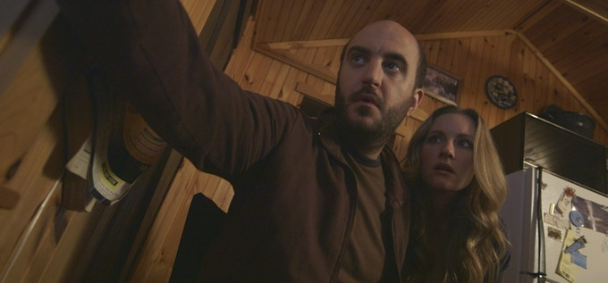 Mark DiConzo as 'Frank' and Katie Morrison as 'Mallory'