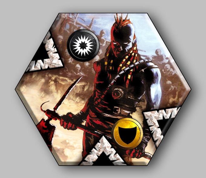 Assassin Tile for Neuroshima Hex