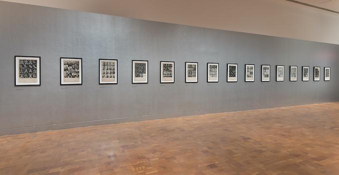 """Bob Mizer & Tom of Finland"", LA Museum of Contemporary Art, 2013."